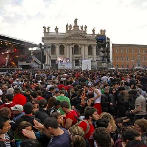 may 1 concert san giovanni. photo credit - forexinfo.it