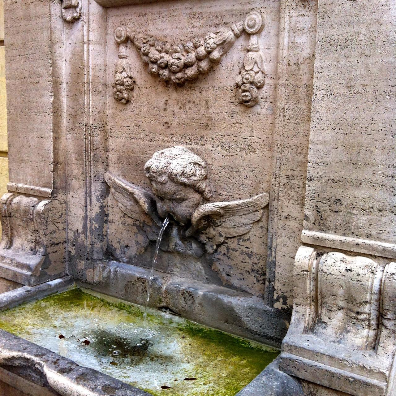 drinking fountain near santa maria maggiore