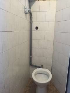 bathrooms in rome can be in tight spaces
