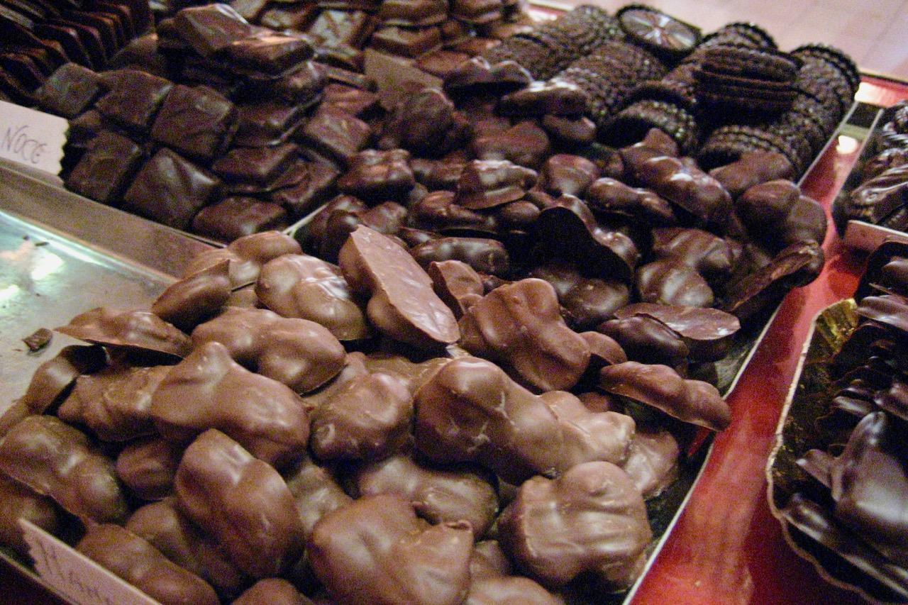 chocolates from Confetteria Moriondo e Gariglio