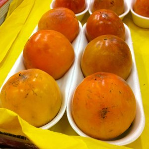 soft persimmons