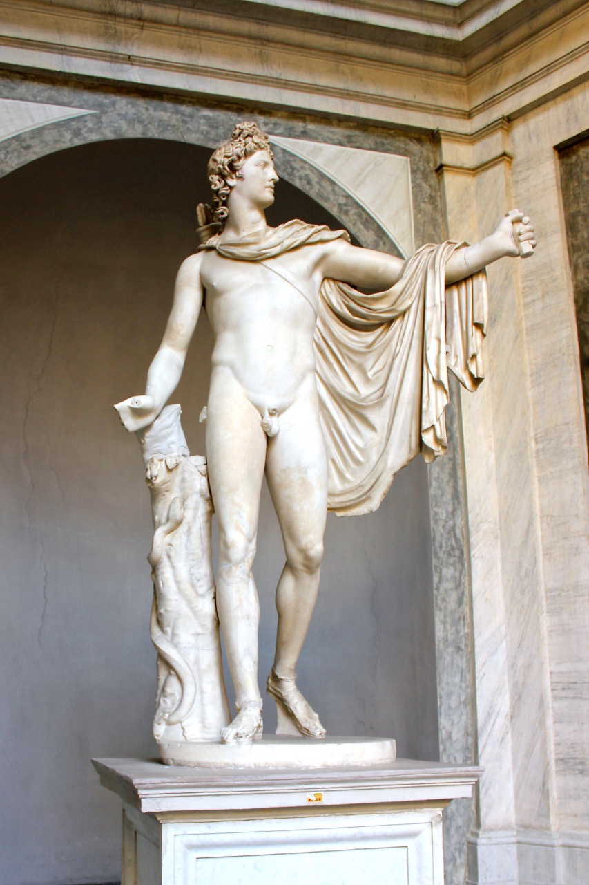 The Apollo Belvedere in Vatican Museums