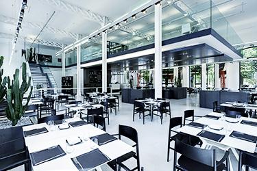 caffeteria at maxxi museum