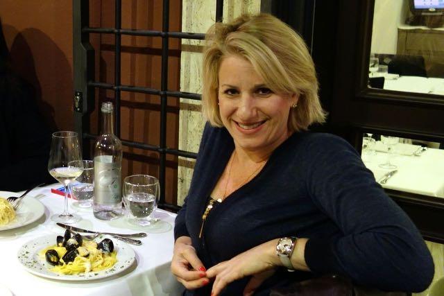me at il falchetto restaurant in rome