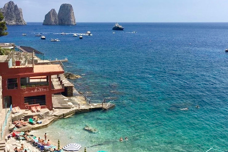 capri is one of the most beautiful islands near Rome