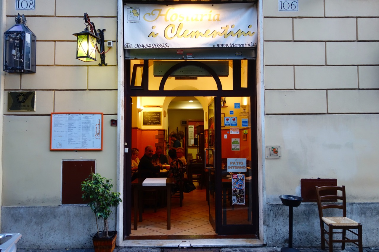 i clementini restaurant near colosseum