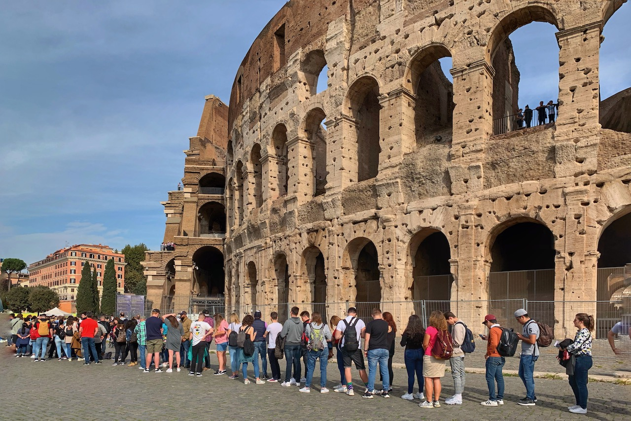 colosseum line to buy tickets