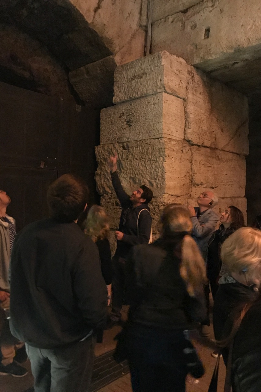 night tour colosseum hypogeum