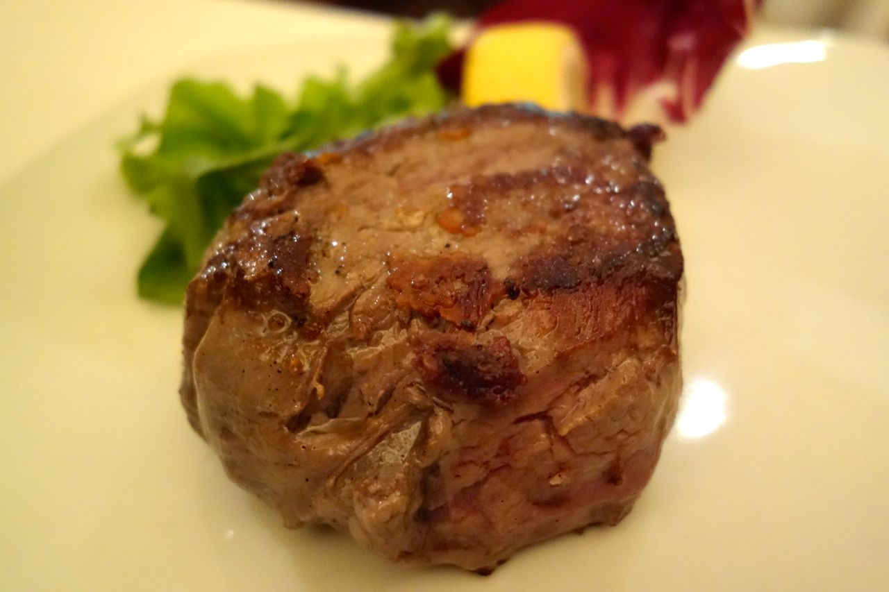 danish beef fillet at trattoria monti