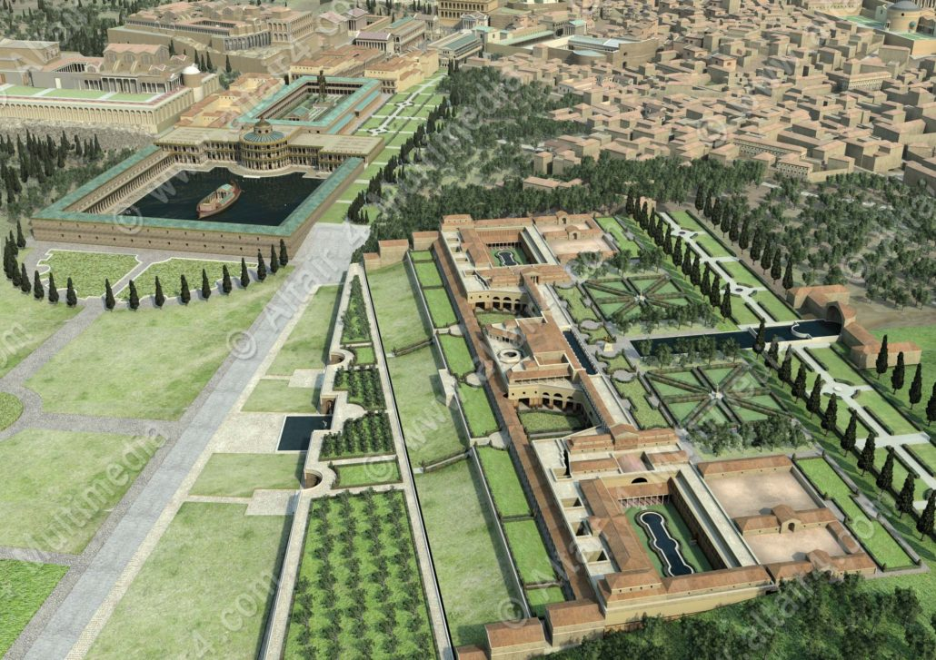 What Nero's Domus Aurea may have looked like