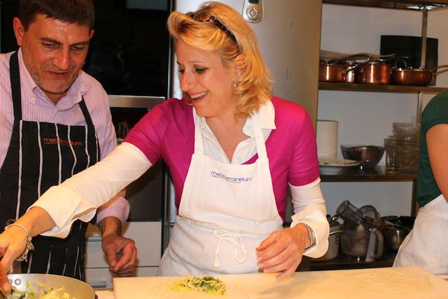 me taking italian cooking classes in rome