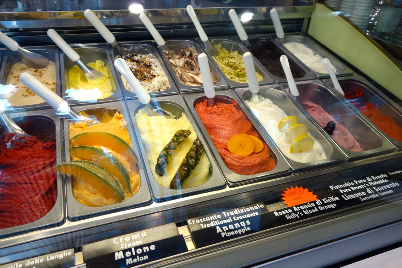 fruit gelato flavors at origini