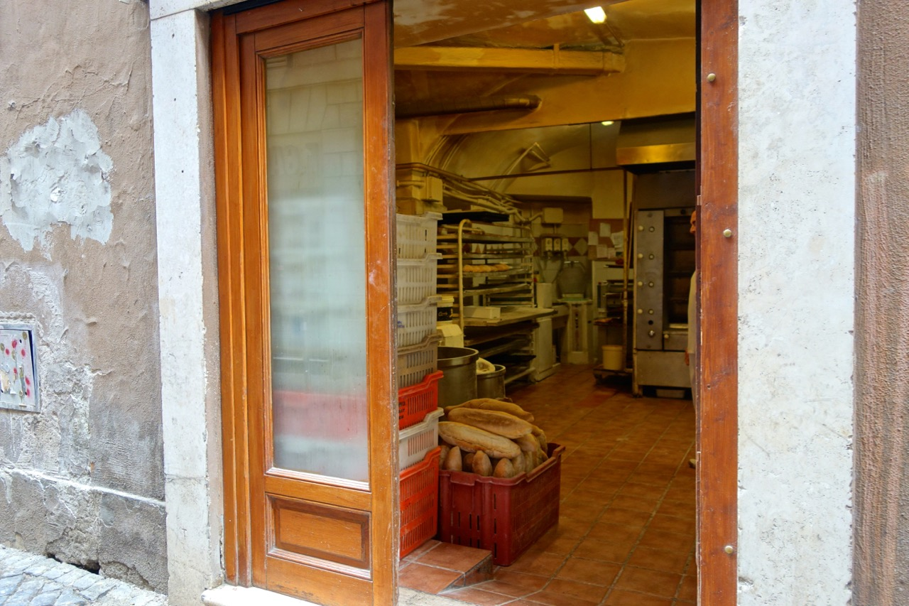 the bakery of antico forno la stelletta
