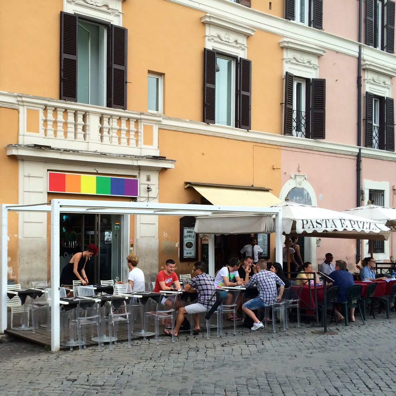 san giovanni in alterano - one of rome's most gay-friendly streets