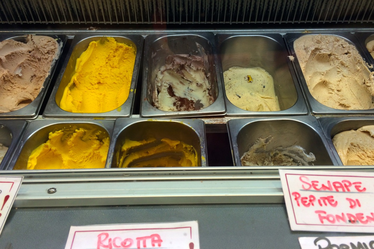 creative gelato flavors at otaleg
