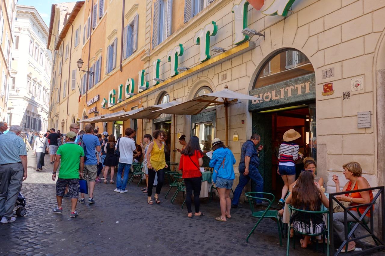 gelateria giolitti in rome