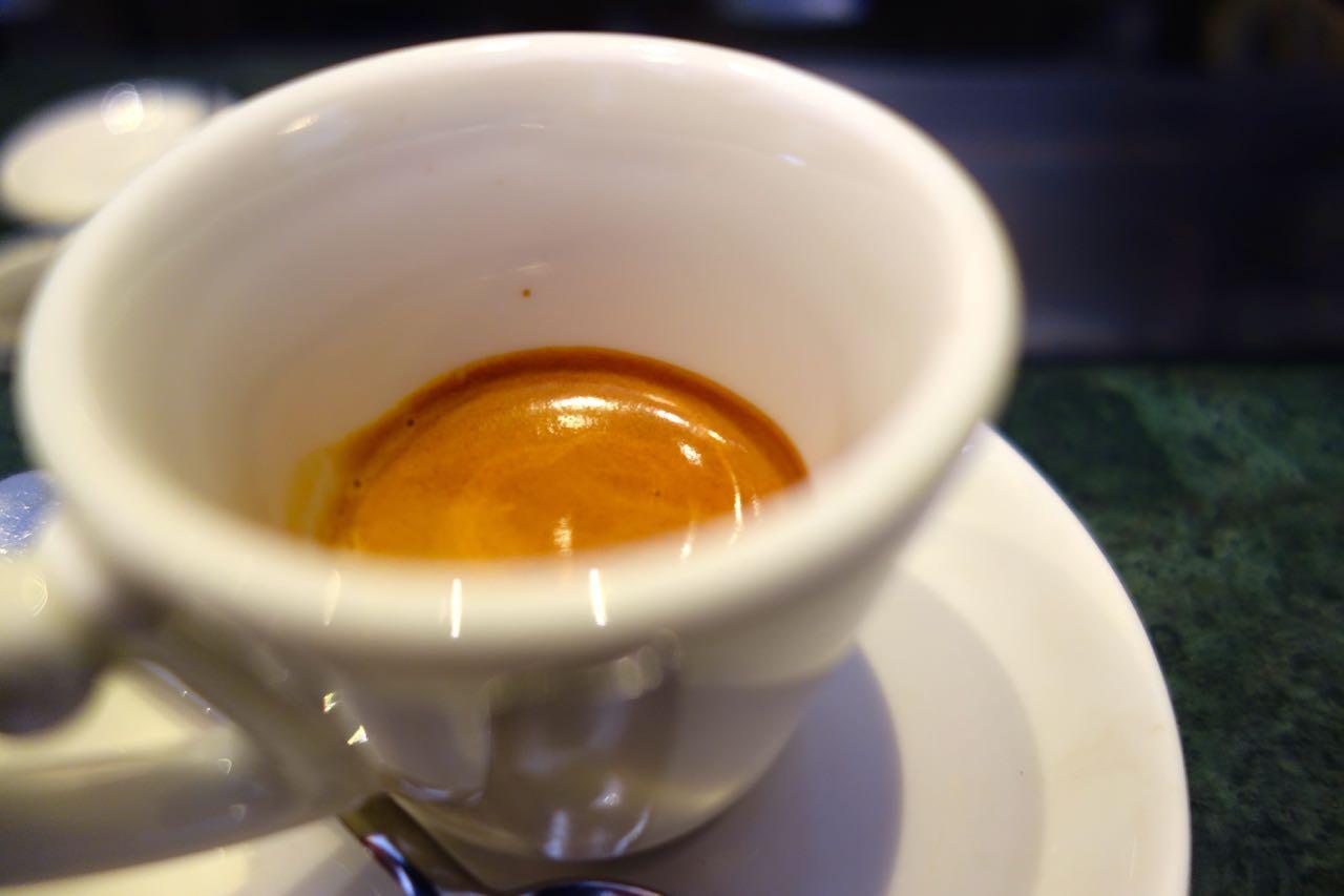 espresso at gran caffe la caffeteria