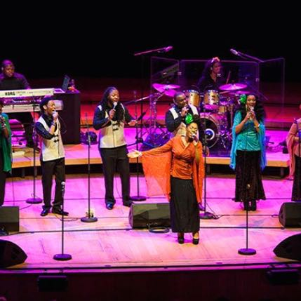 harlem gospel choir at rome auditorium