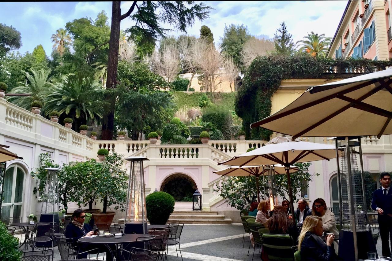 hotel de russie garden