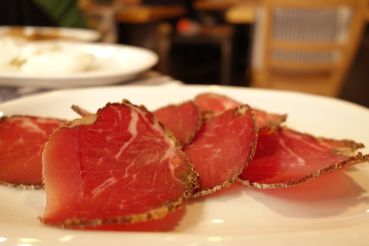 lonza appetizer at taberna recina