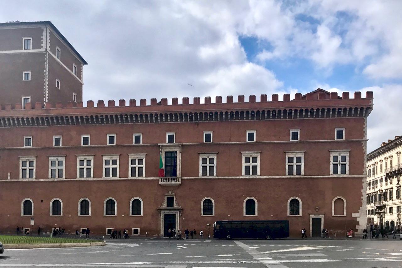 palazzo venezia in rome