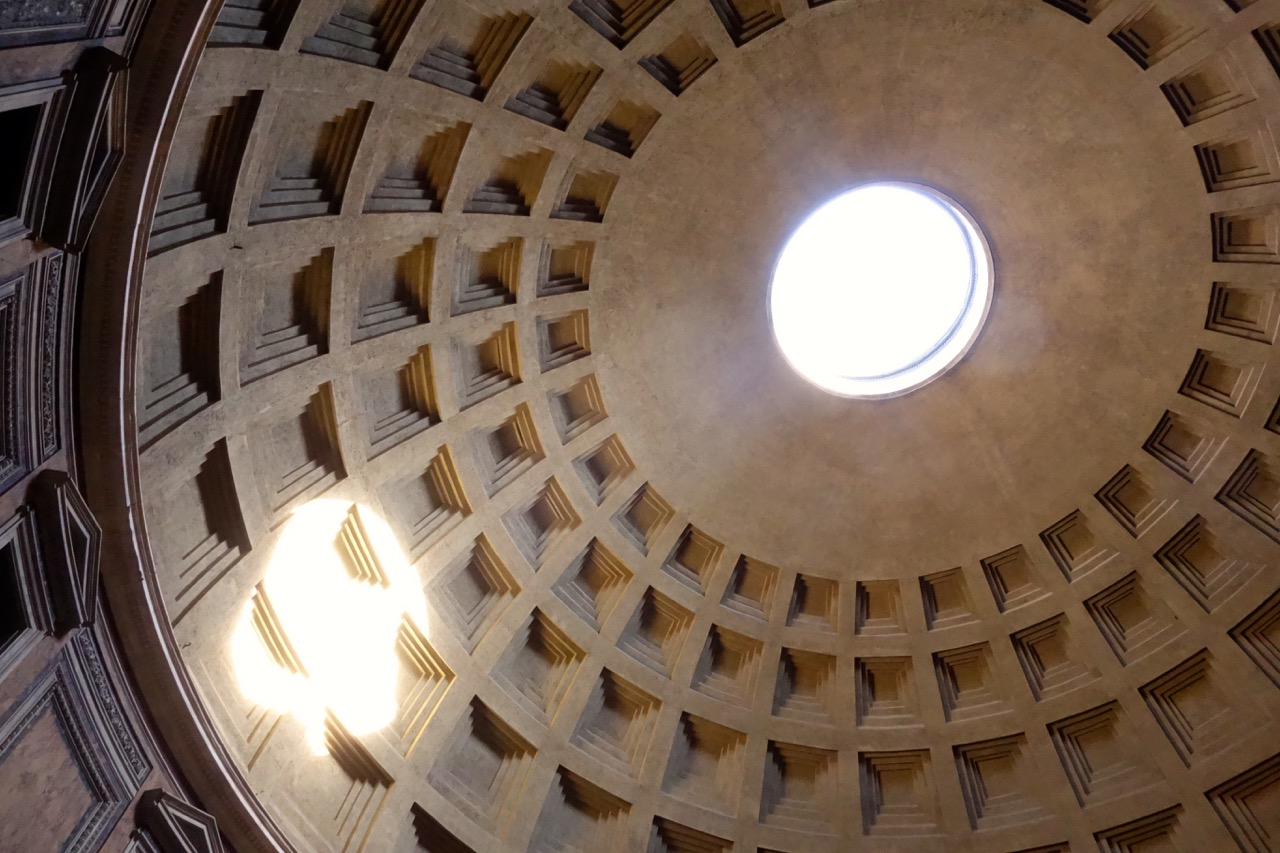 oculus of rome pantheon