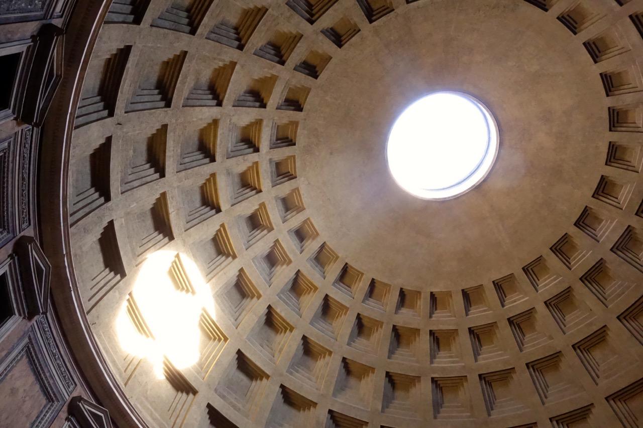 oculus of rome pantheon