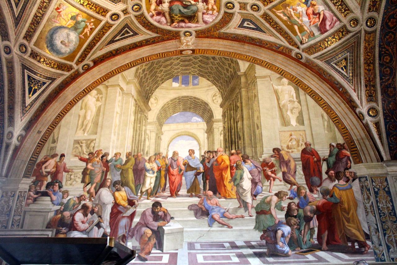 raphael school of athens in vatican museums