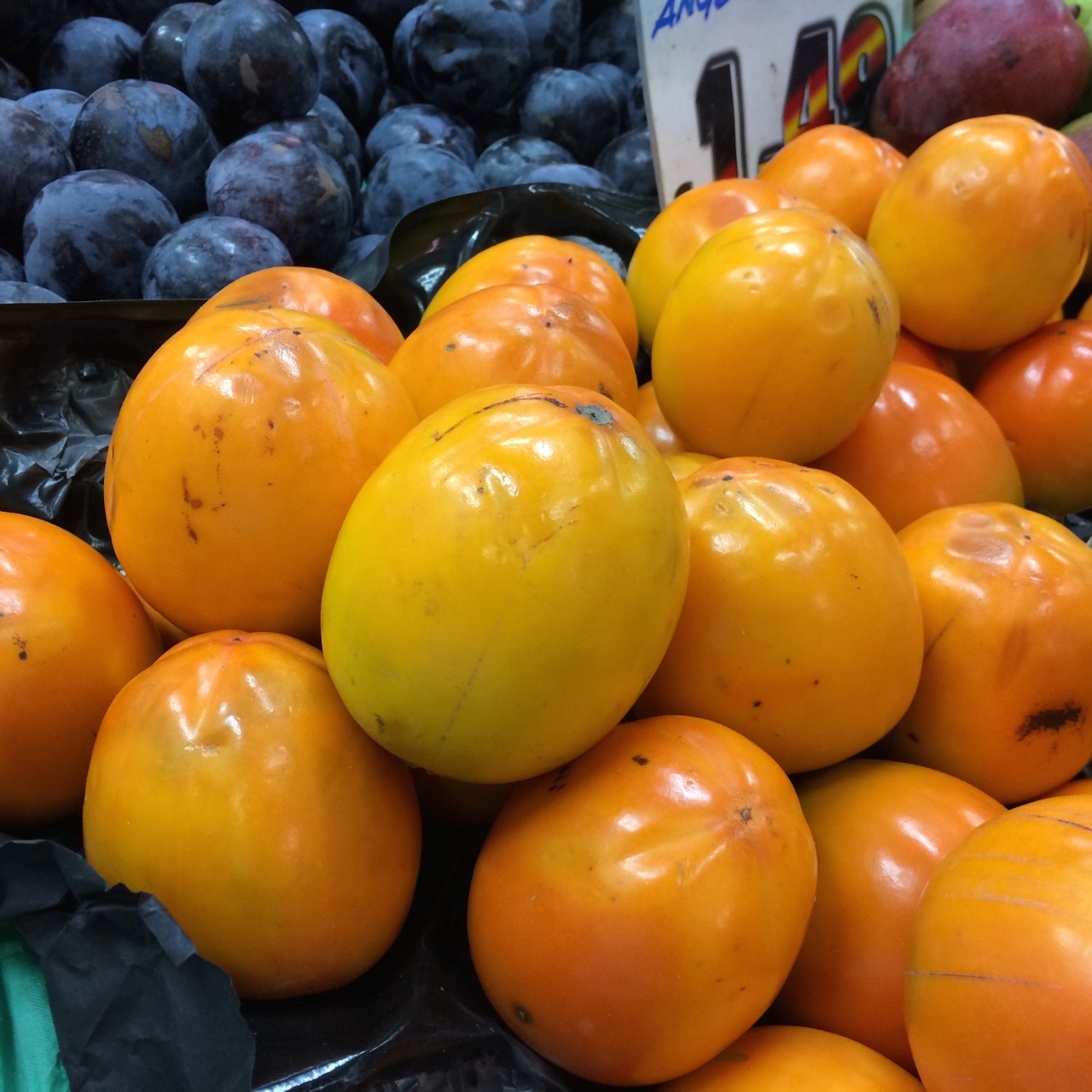 vanilla persimmons