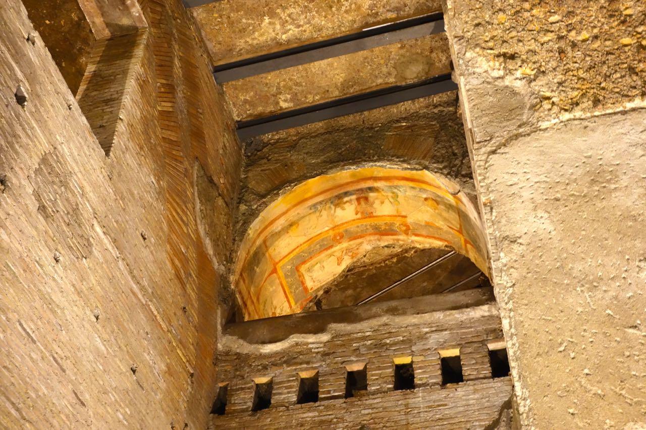 part of ceiling inside domus aurea