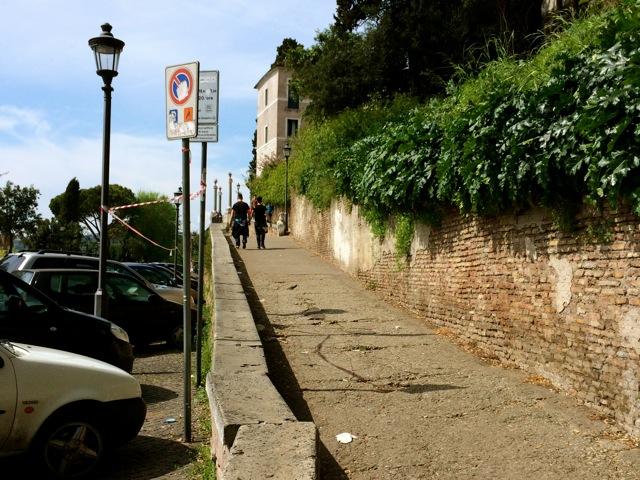 ramp to pincio hill
