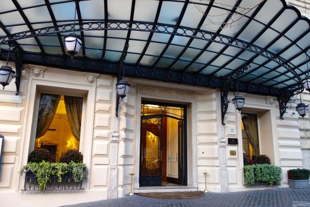 hotel regina baglioni in rome