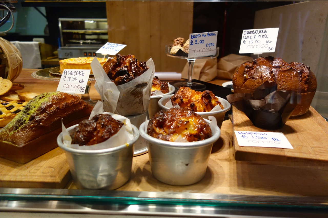 baked goods at romeo