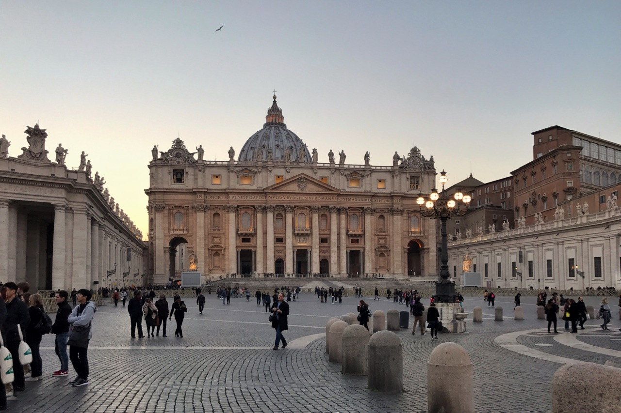 st peters basilica - a must-see in rome