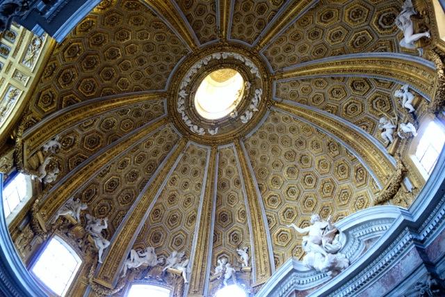 cupola of sant'andrea al quirinale