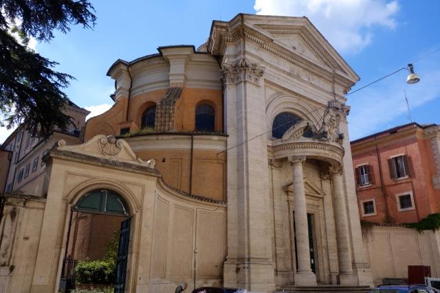 facade of sant'andrea al quirinale