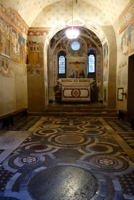chapel of san silvestro in santi quattro