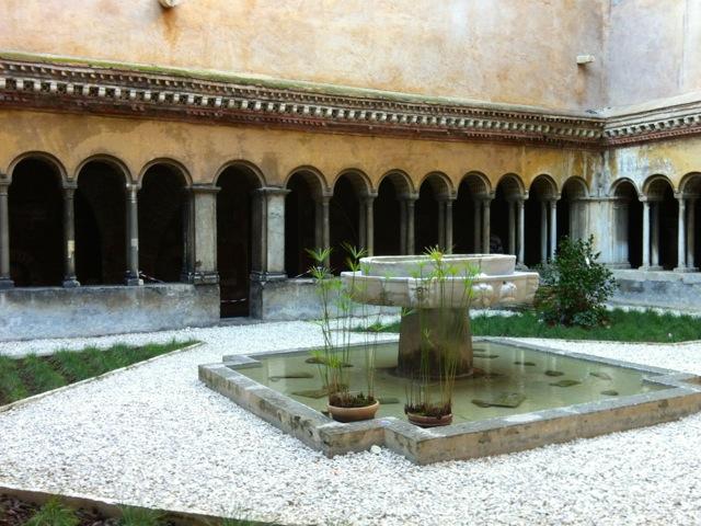 santi quattro cloister