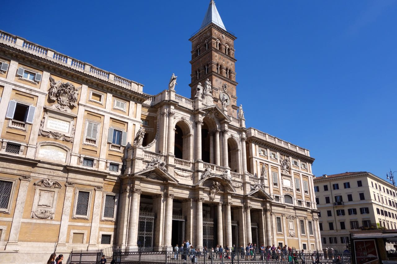major basilica of santa maria maggiore in rome