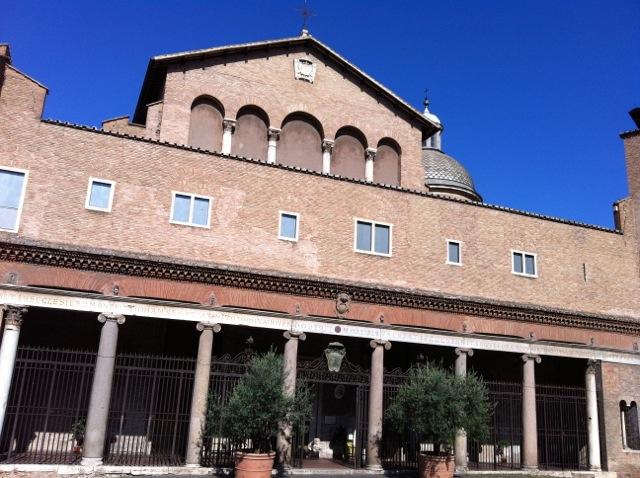 exterior of santi giovanni e paolo