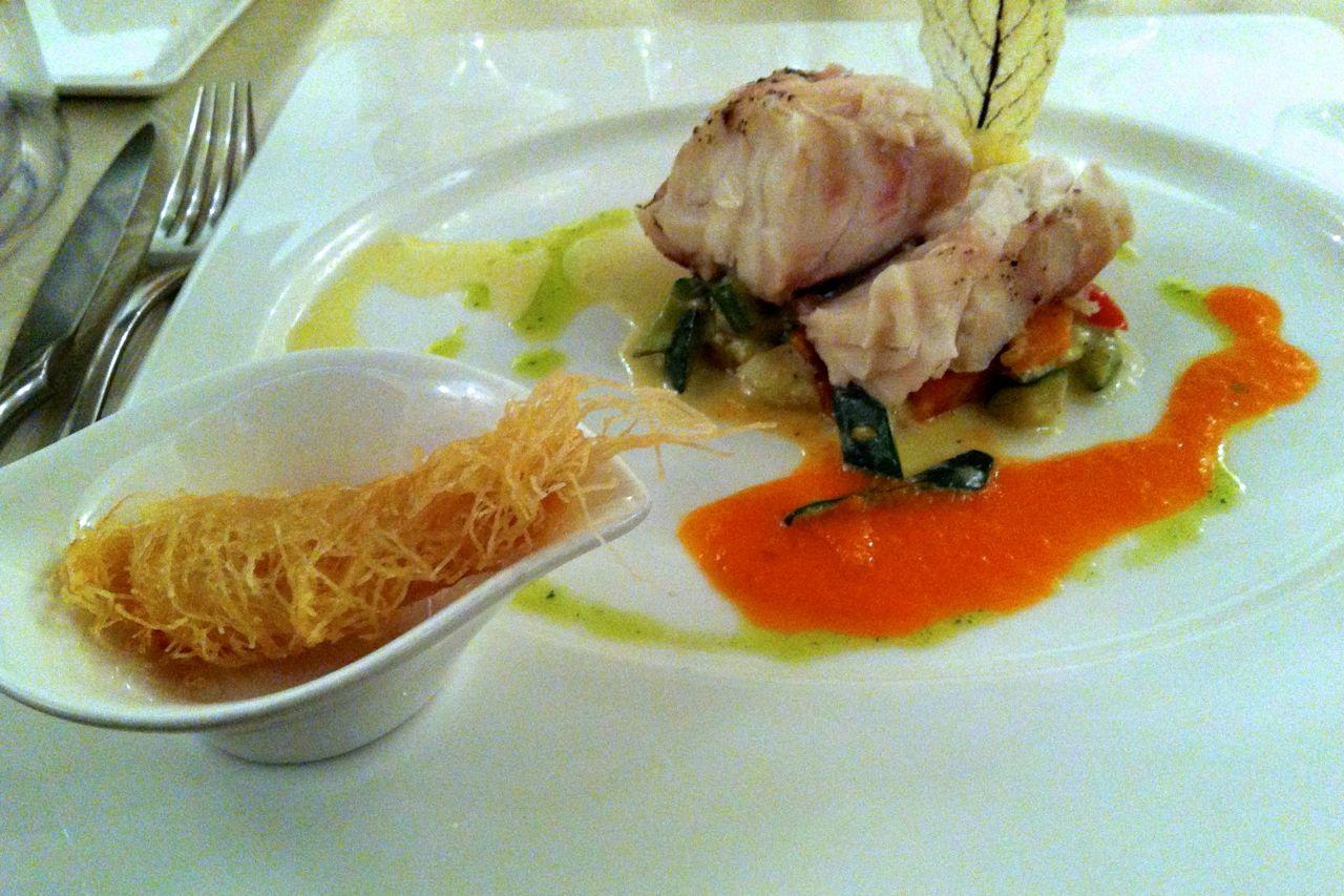 Seafood Restaurant Near Trevi Fountain