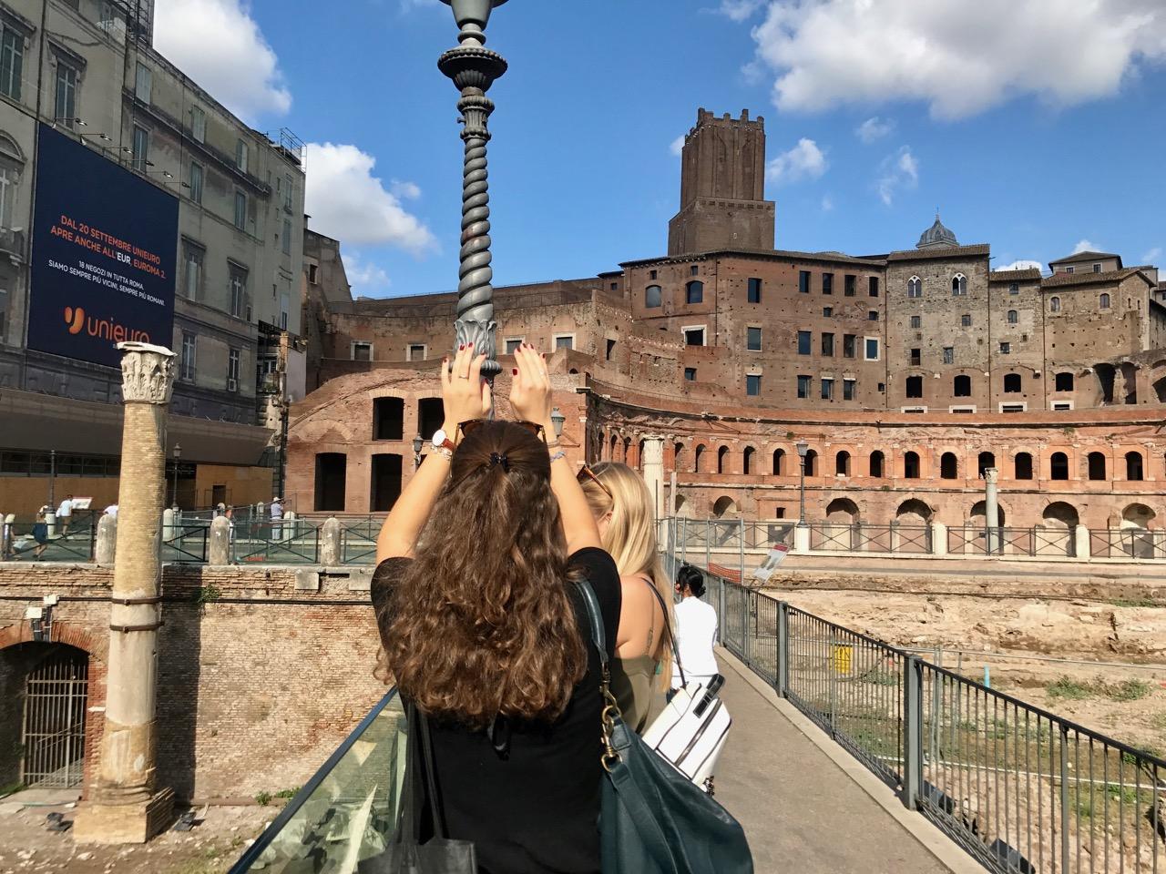 On a Sophort Polaroid tour of Rome