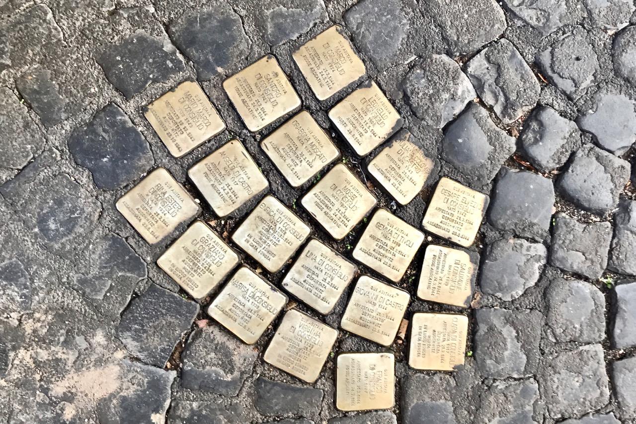 Rome Stolpersteine