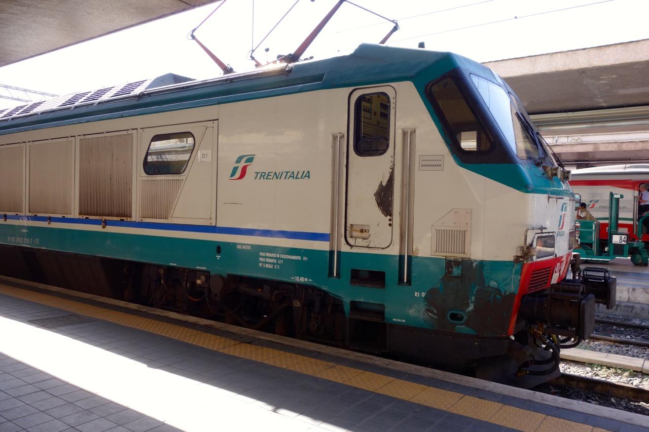 train at termini station