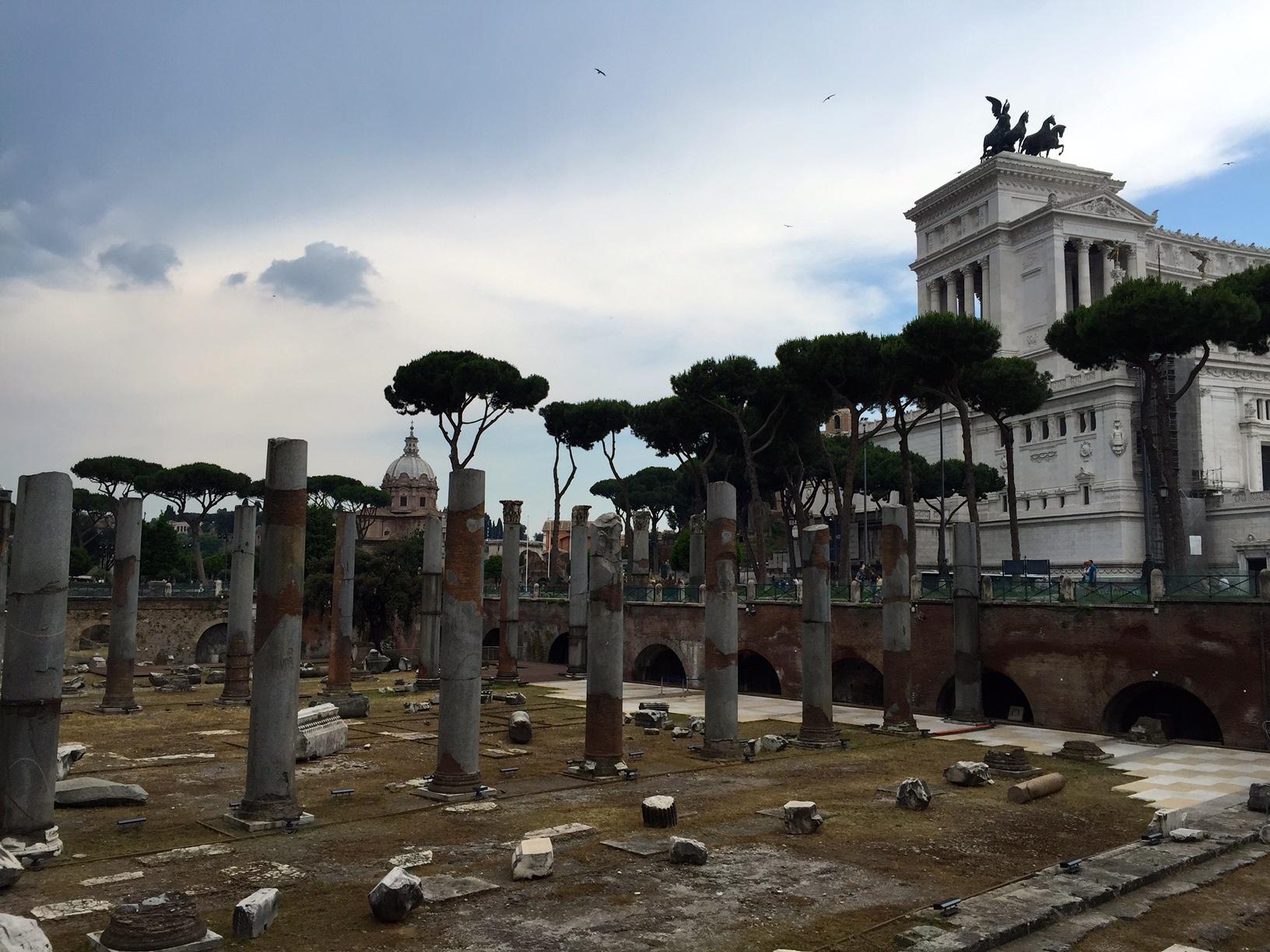 trajan's forum rome