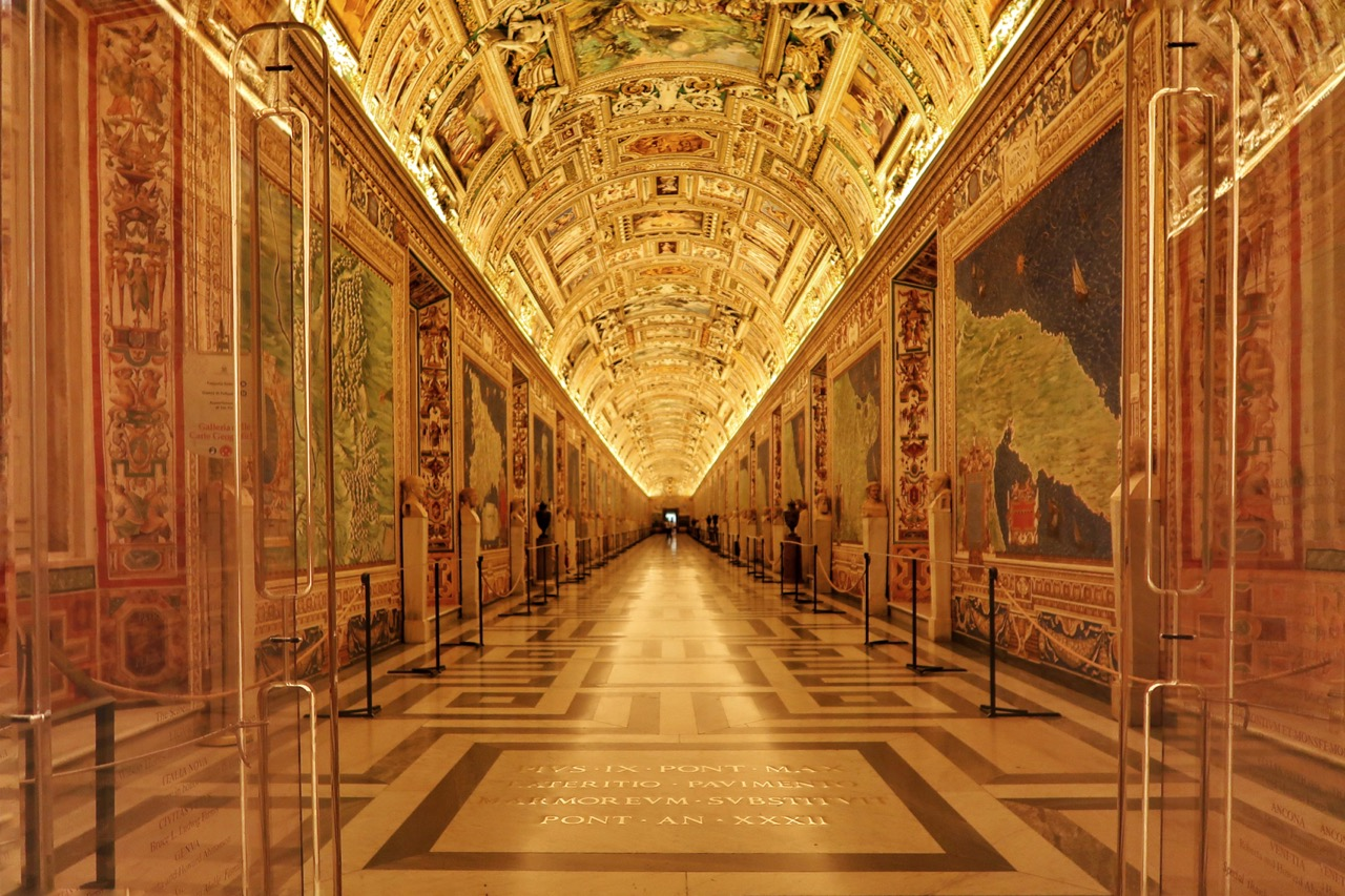 vatican museums maps gallery