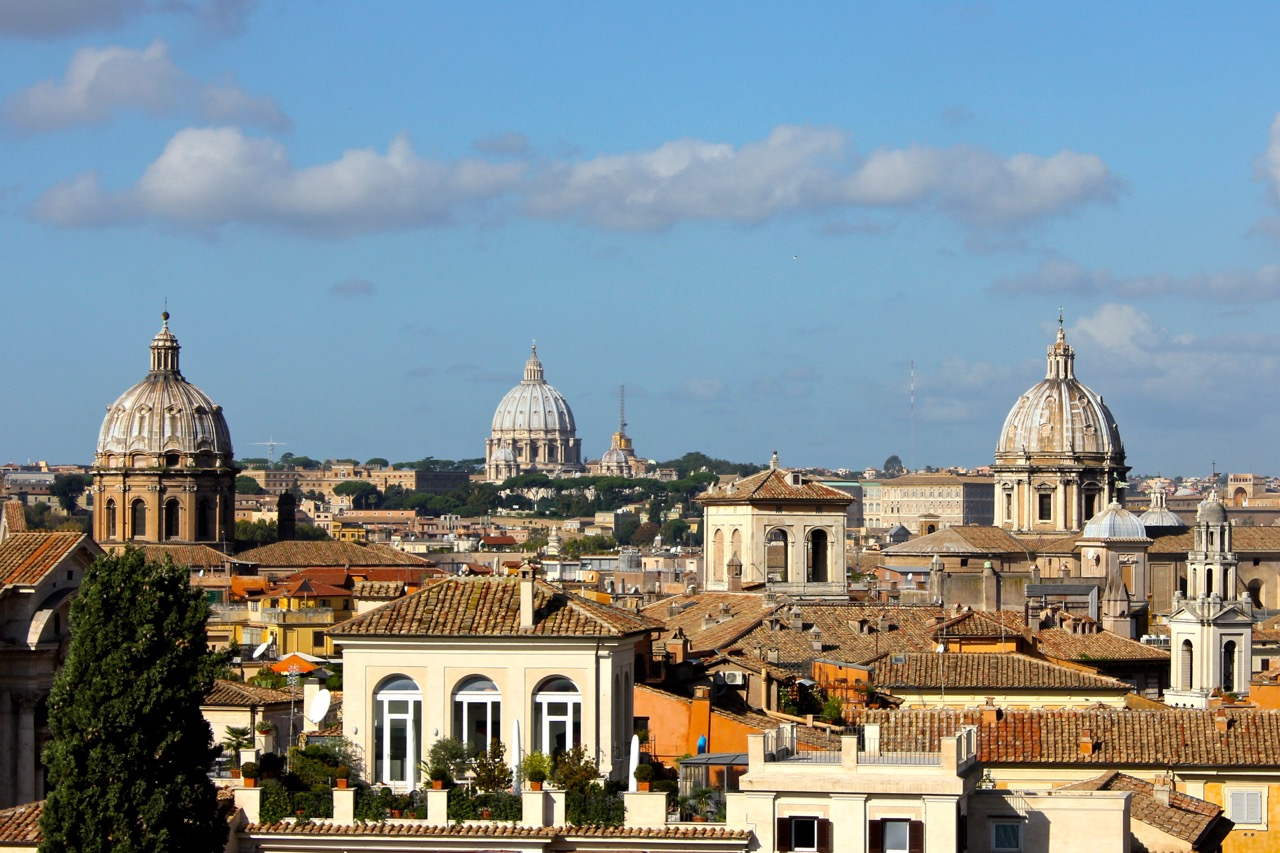 rooftop views in rome