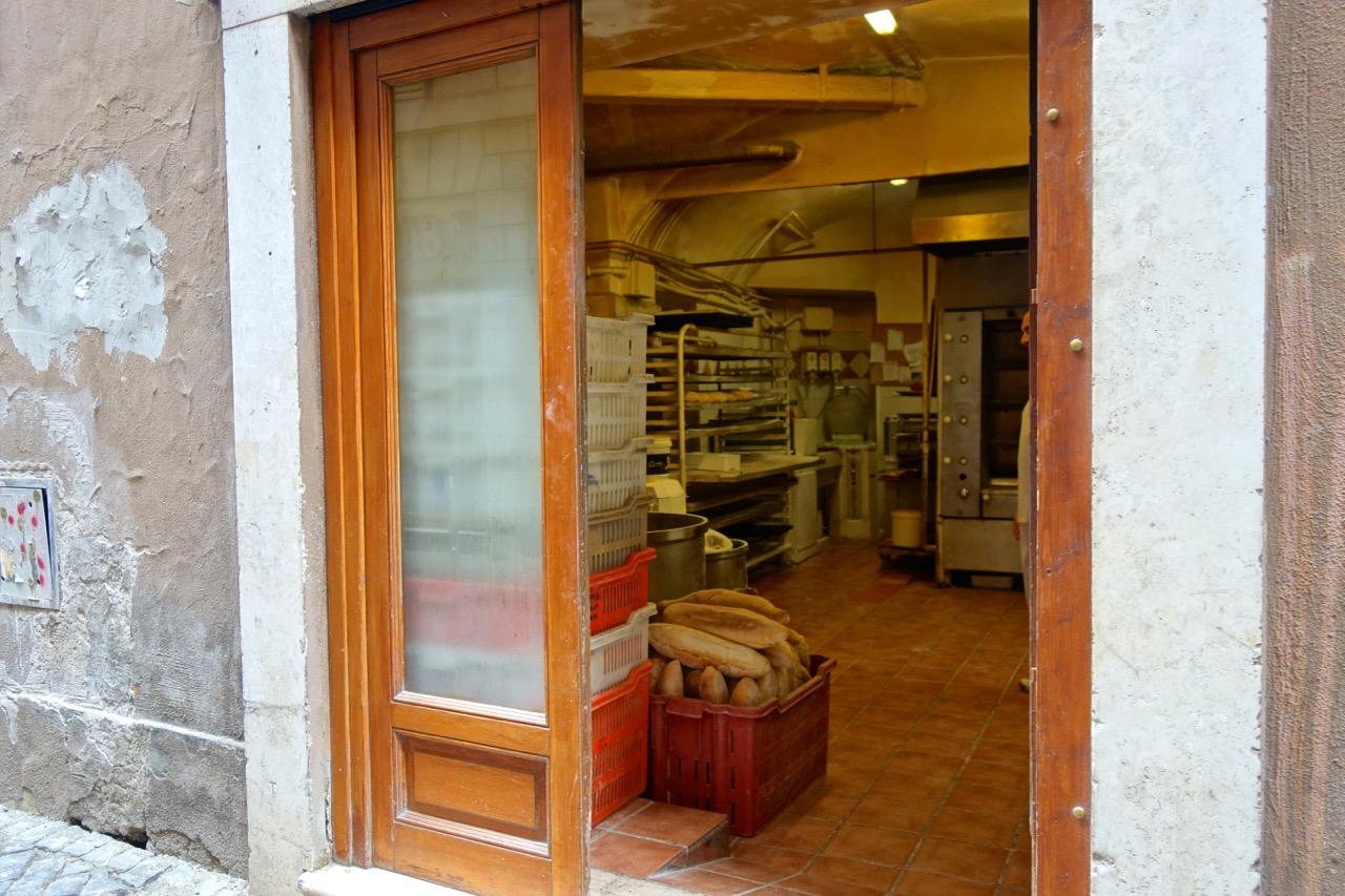 the bakery of antico forno la stelletta