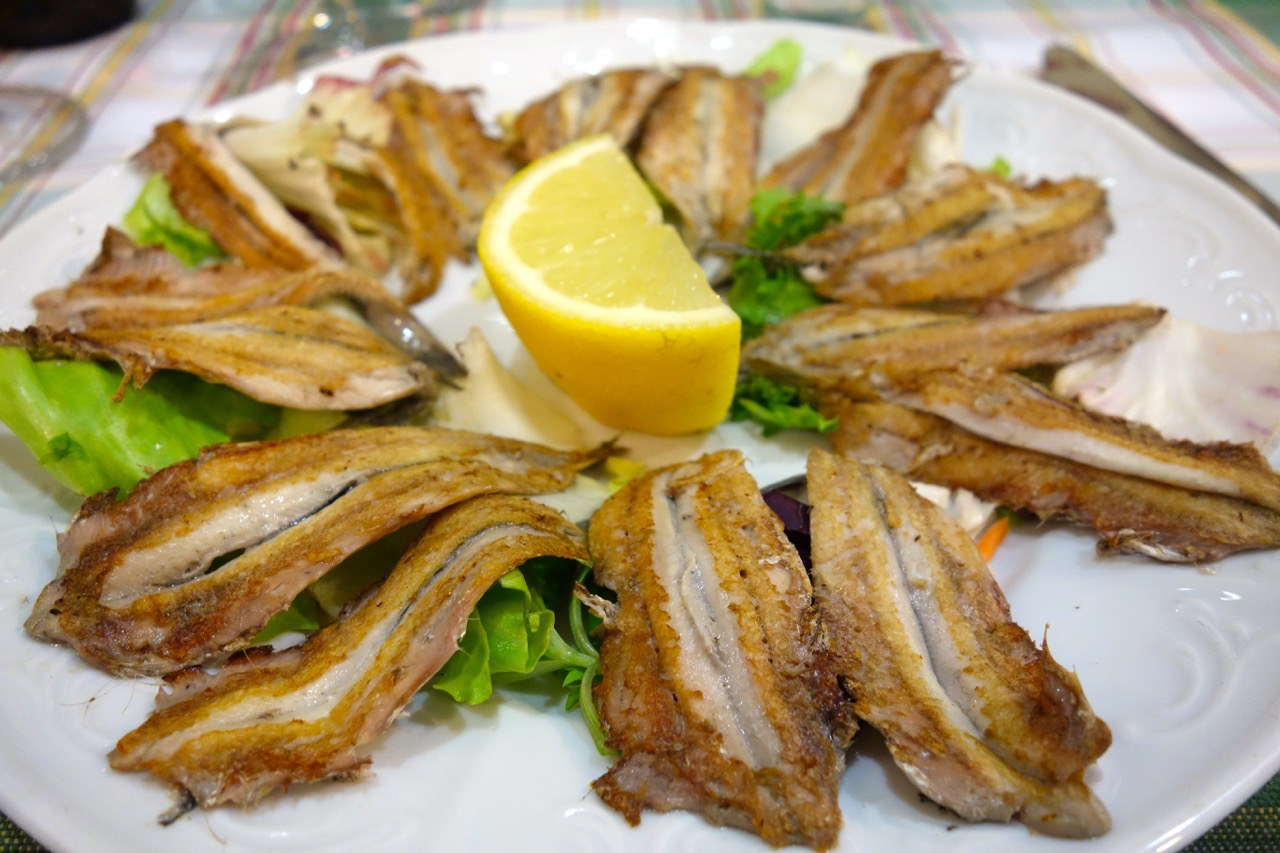 grilled anchovies sora lucia