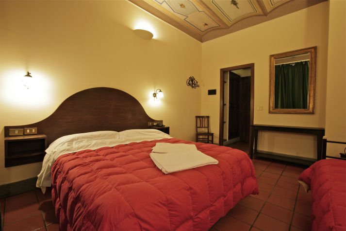 Hotel Panda is a great option for cheap accommodation in Rome